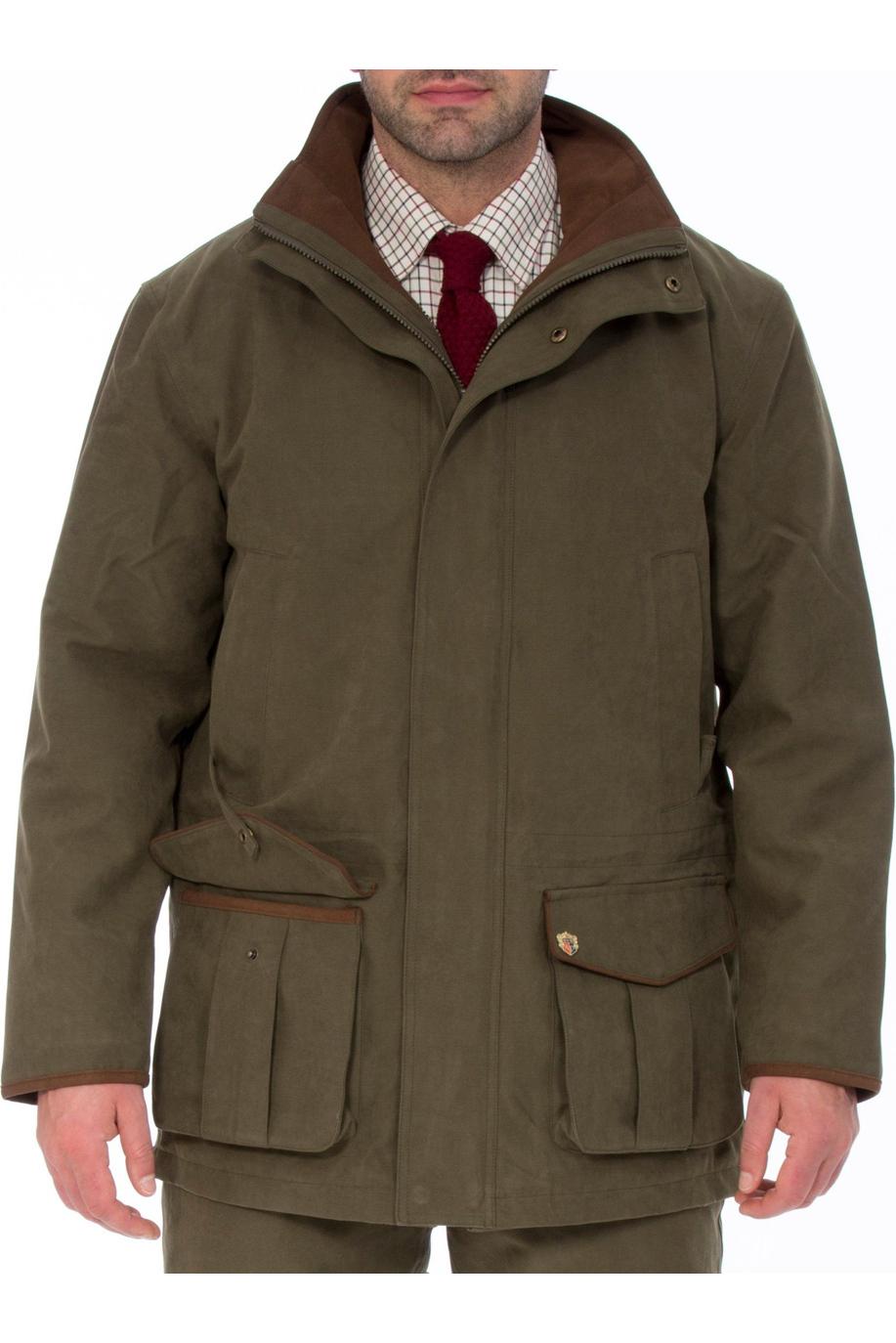 7b8b35e3d Alan Paine Mens Jacket Berwick Waterproof Shooting Olive | Mens ...