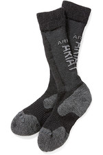 Ariat Ariat-tek Alpaca Socks Black / Grey