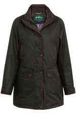 Alan Paine Fernley ladies weekend coat LA2026 WOODLAND