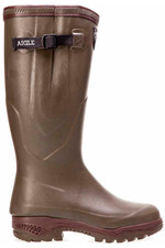 Aigle Mens Parcours 2 ISO Anti Fatigue Hunting Boots Kaki