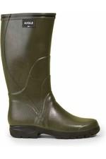 Aigle Mens Tancar Pro Wellington Boots - Kaki