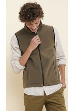 Aigle Mens Redul Fleece Gilet - Bronze