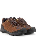 Aigle Vidur Low Mens Waterproof MTD Boots Dark Brown