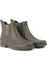 2021 Aigle Womens Carville Ankle Wellie Boot - Khaki