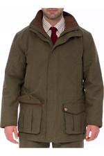 Alan Paine Mens Berwick Waterproof Shooting Jacket Olive