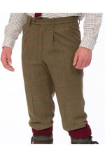 Alan Paine Mens Combrook Tweed Breeks Sage