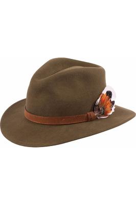 Alan Paine Richmond Felt Hat Olive