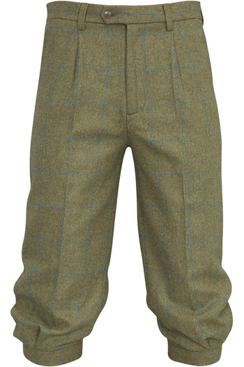 Alan Paine Mens Combrook Tweed Breeks Lagoon
