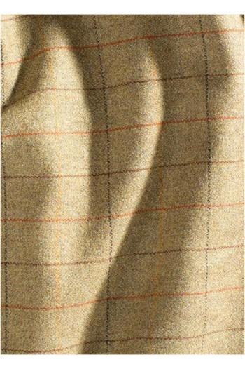 Alan Paine Mens Combrook Tweed Shooting Field Coat - Elm