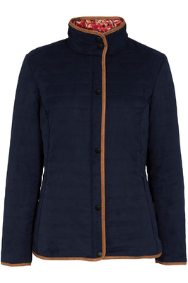 Alan Paine Womens Felwell Quilt Jacket Navy