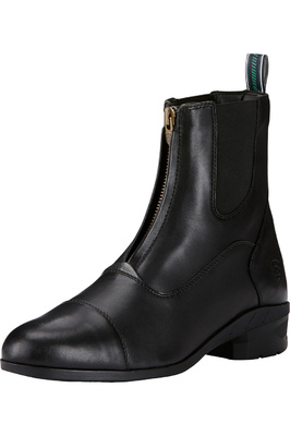 Ariat Mens Heritage IV Zip Short Boots Black
