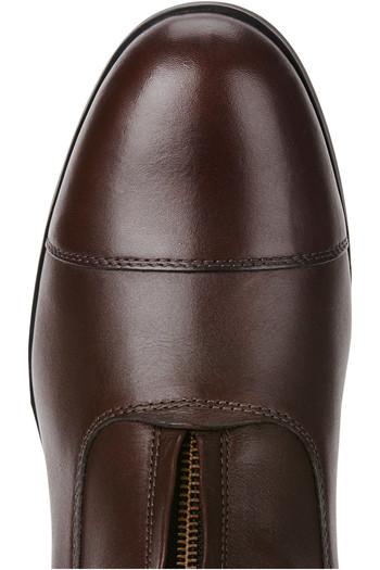 Ariat Mens Heritage IV Zip Short Boots Light Brown