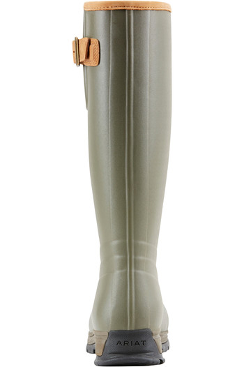 Ariat Womens Burford Insulated Wellies Olive Green