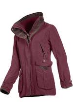Baleno Womens Ascot Jacket Plum