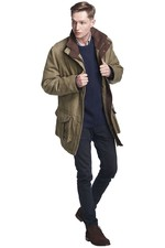 Dubarry Mens Ballyfin Tweed Country Jacket Acorn