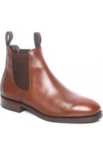 Dubarry Mens Kerry Leather Ankle Boot Chestnut