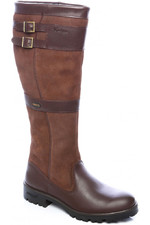 Dubarry Womens Longford Leather Boot Walnut