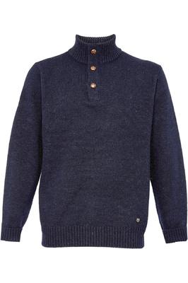 Dubarry Mens Mallon Half Zip Sweater Navy