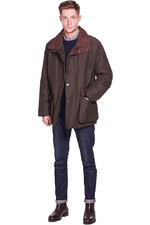 Dubarry Mens Rathmullan Waterproof Jacket Dark Olive