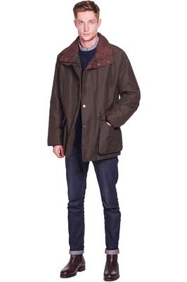 Dubarry Mens Rathmullan Waterproof Jacket Dark Olive