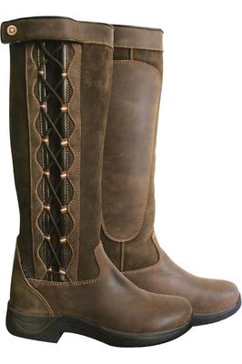 Dublin Womens Pinnacle Boots Chocolate Brown