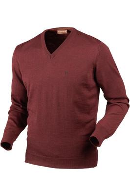 Harkila Mens Jari Pullover Jumper Burgundy