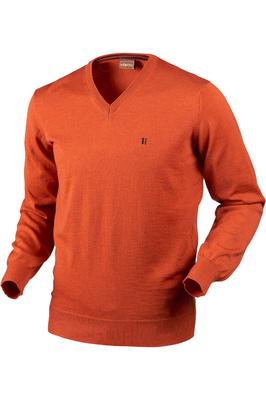 Harkila Mens Jari Pullover Jumper Bright Orange