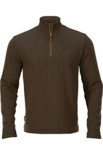 Harkila Mens Retrieve HSP Pullover - Dark Warm Olive