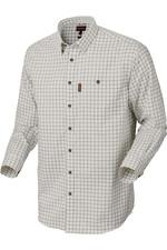 Harkila Mens Stenstorp Shirt - Dark Apple Check