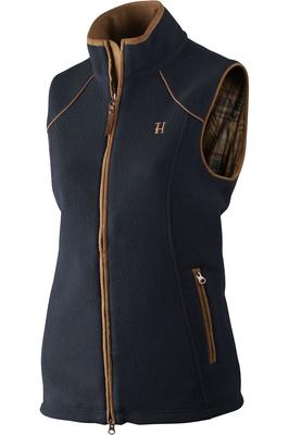 Harkila Womens Sandhem Fleece Waistcoat - Dark Navy
