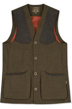 Musto Mens Stretch Technical Tweed Waistcoat Thornberry