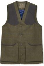 Musto Mens Lightweight Machine Washable Tweed Waistcoat Cairngorm