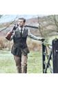 Musto Mens Shooting Vest Dark Moss