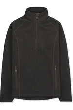 Musto Womens Super Warm Polartec Windjammer Half Zip Fleece Jacket Liquorice