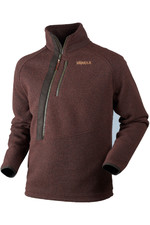 Harkila Mens Nite HSP Pullover Fleece Burnt Orange