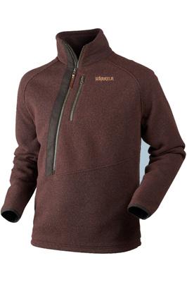 Harkila Mens Nite HSP Pullover Fleece Burnt Orange