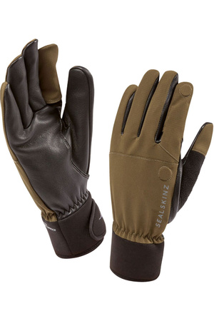 SealSkinz Shooting Gloves Olive