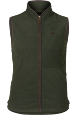 Seeland Mens Woodcock fleece waistcoat - Classic green