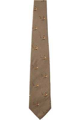 Seeland Morgan Silk Tie Faun Brown