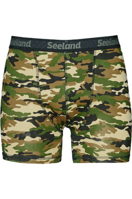 Seeland Mens Boxer Briefs 2-Pack Camo / Forest Night