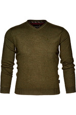 Seeland Mens Compton Pullover Pine Green