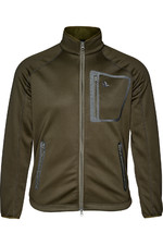 Seeland Mens Hawker Storm Fleece Jacket Pine Green