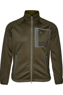 Seeland Mens Hawker Storm Fleece Jacket Pine Green