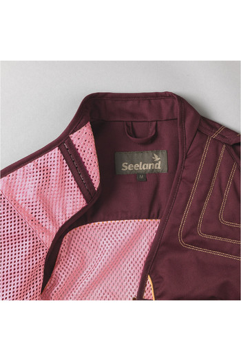 Seeland Womens Skeet Shooting Waistcoat - Bitter Chocolate