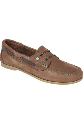 Dubarry Womens Aruba Deck Shoes Cafe