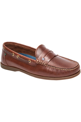 Dubarry Mens Spinaker Deck Shoes Brown