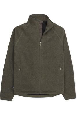 Musto Mens Super Warm Polartec Windjammer Fleece Jacket Moss